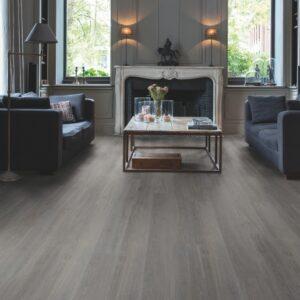 Quick-Step Alpha Vinyl Silk oak dark grey AVSP40060 | Best at Flooring