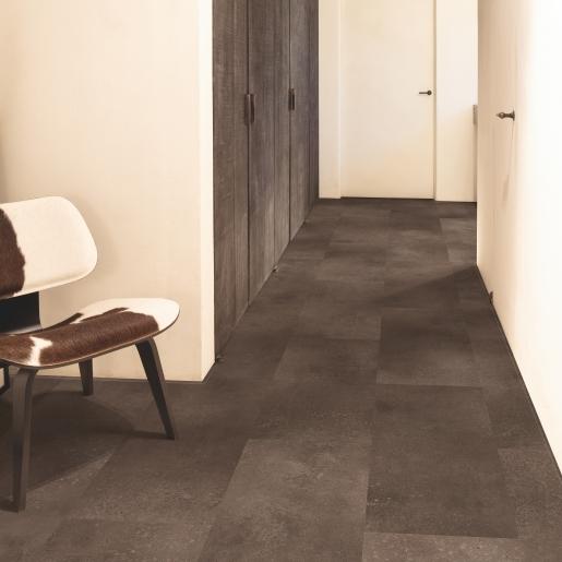 Quick-Step Alpha Vinyl Tile Cinnamon Rock AVST40233 | Best at Flooring