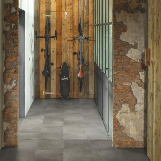 Quick-Step Alpha Vinyl Tile Concrete Rock AVST40234 | Best at Flooring
