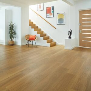 Golden Brushed Oak VGW122T-RKP | Karndean Van Gogh Rigid Core | BestatFlooring