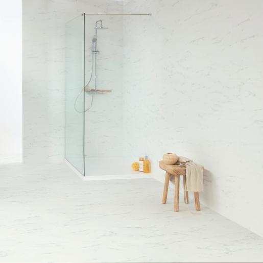 Quick-Step Livyn Rigid Balance Click Marble Carrara White RAMCL40136