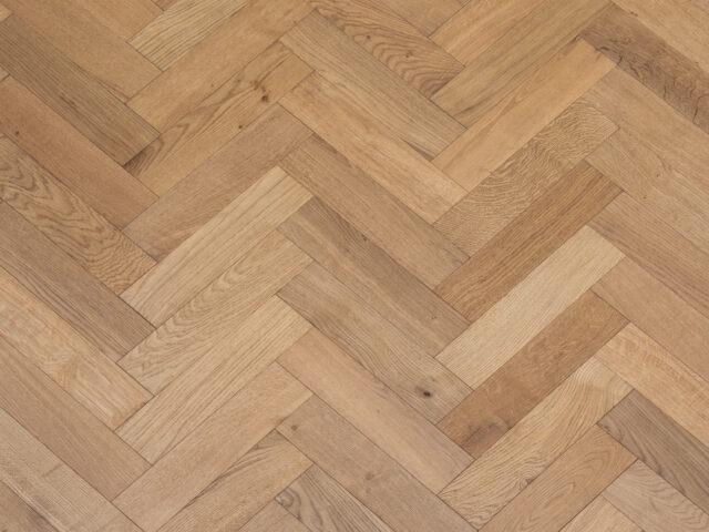 Light Stain Matt Lacquered Herringbone Engineered Wood | Top Up