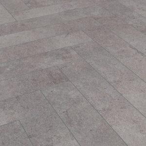 Pesaro Cement D4739 | Kronotex Herringbone Laminate | Best at Flooring