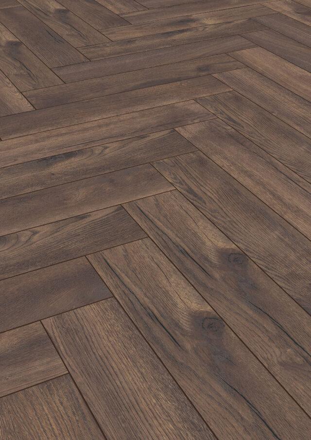 Calais Oak D4766 | Kronotex Herringbone Laminate | Best at Flooring