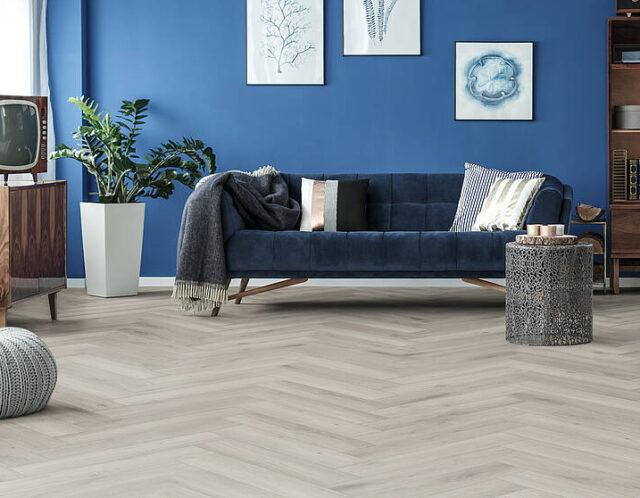 Silver Oak D3773 | Kronotex Herringbone Laminate | Best at Flooring