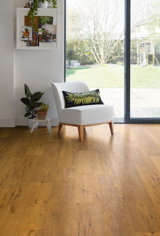 Log Cabin Oak 9029 | Expona EnCore Rigid Loc | Best at Flooring