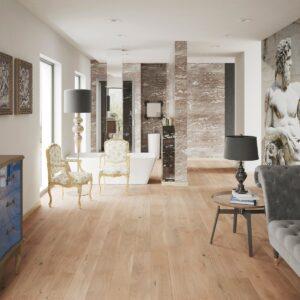 14mm Cream Oak Brushed & Matt Laquered Click | Best at Flooring