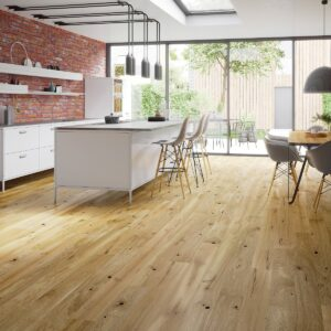 14mm Rustic Oak Brushed & Natural Oiled Click | Best at Flooring