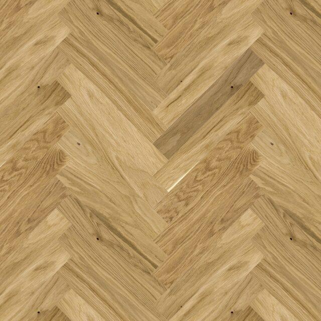 Oak Select Brushed & Matt Lacquered Herringbone Click | Close Up