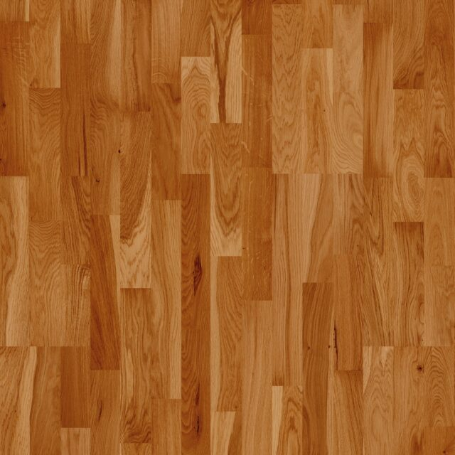 3-Strip Golden Oak Lacquered Click | Close Up