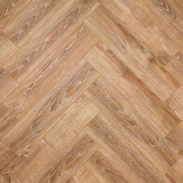 NEHE52 Gorseland Oak | V4 Natureffect Herringbone | Close Up