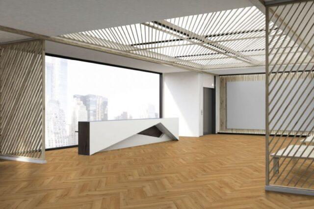 Oak Natural Robust Herringbone | Wood Innovations | Living Room