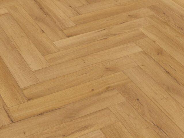 Oak Natural Robust Herringbone | Wood Innovations | Best at Flooring