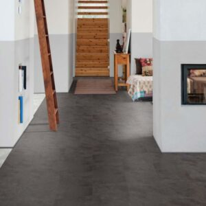 Black Shadow Slate 3453 | Polyflor Camaro Loc | Best at Flooring