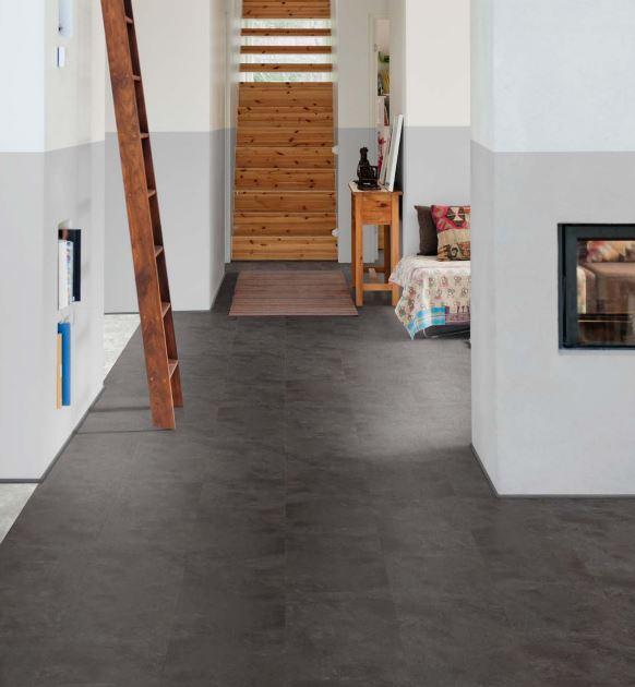 Black Shadow Slate 3453   Polyflor Camaro Loc   Best at Flooring
