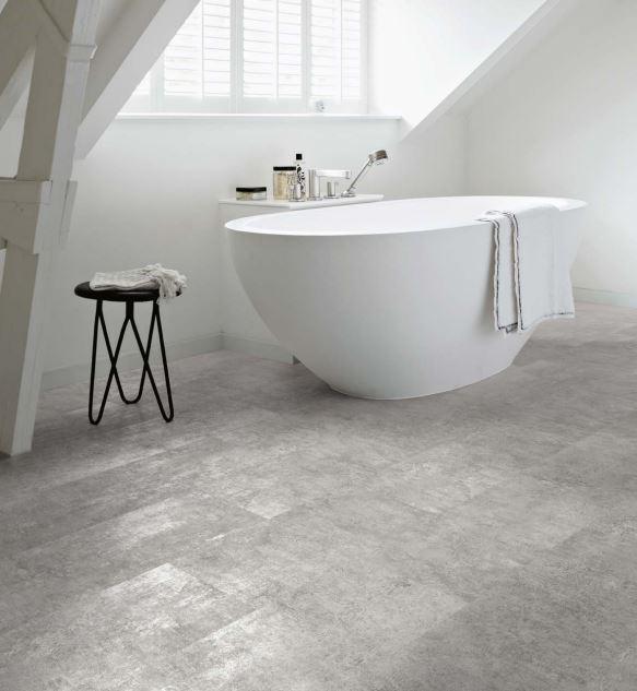 Grey Flagstone 3452 | Polyflor Camaro Loc | Best at Flooring