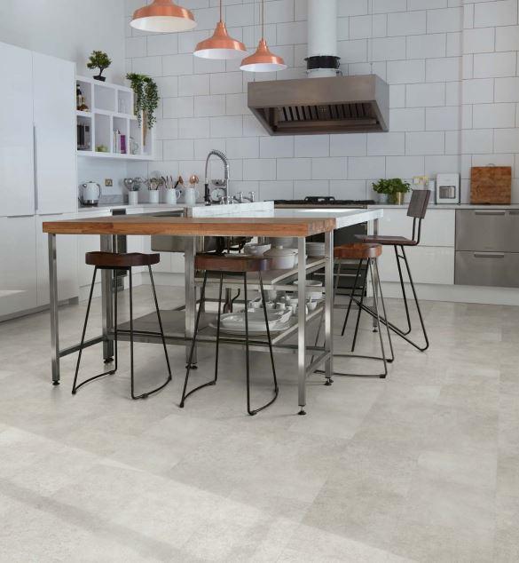 Isla Concrete 3457   Polyflor Camaro Loc   Best at Flooring