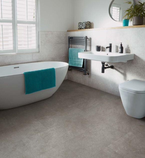Maison Concrete 3458 | Polyflor Camaro Loc | Best at Flooring