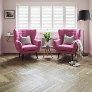 Lime Washed Oak SM-KP99 | Karndean Knight Tile | Lounge