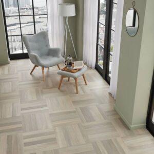 Glacier Oak SM-RL21 | Karndean Art Select Parquet | Living Room