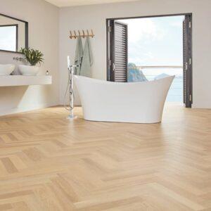 Savannah Oak SM-RL23 | Karndean Art Select | Bathroom