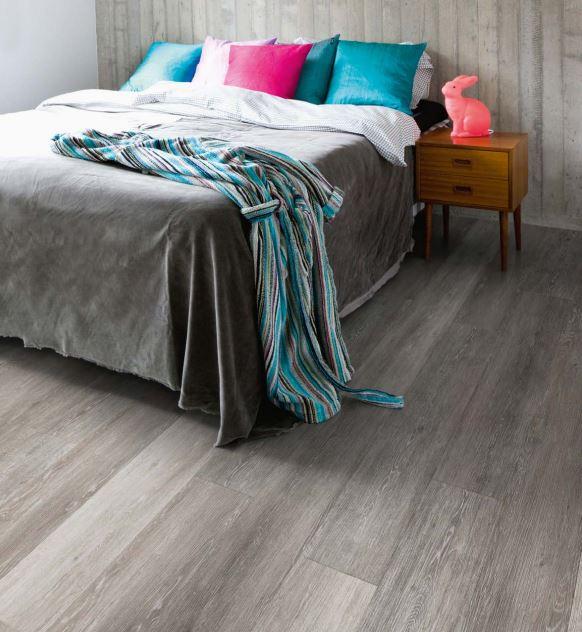 Smoke Limed Oak 3437 | Polyflor Camaro Loc | Best at Flooring