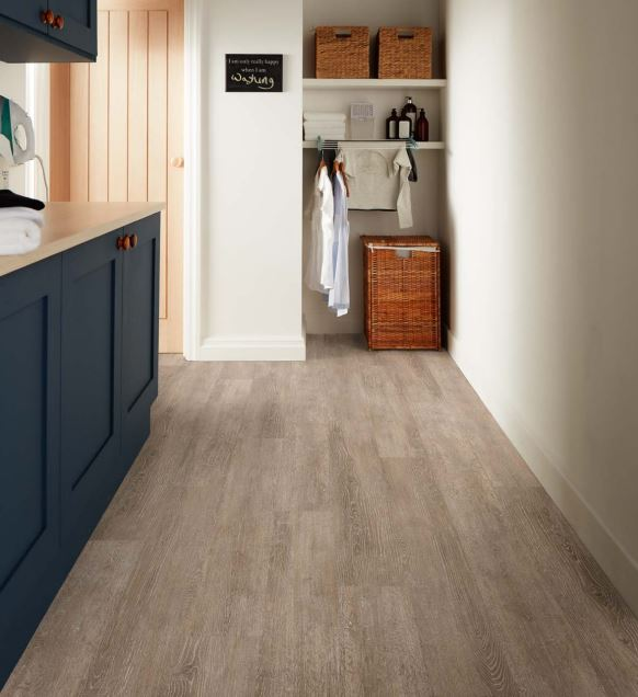 Tan Limed Oak 3438 | Polyflor Camaro Loc | Best at Flooring