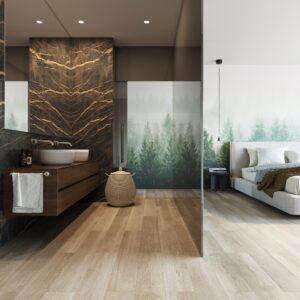 French Oak Almond | Invictus Maximus Click | Bedroom