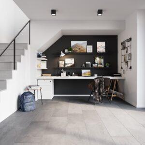 Groovy Granite Steel | Invictus Maximus | Home Office
