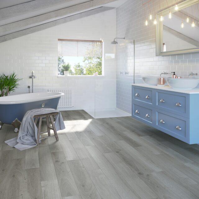 Highland Oak Frosted   Invictus Maximus Click   Bathroom