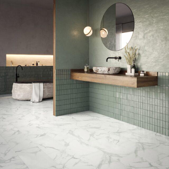 Pure Marble Snow   Invictus Primus   Bathroom