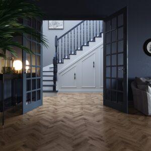 Royal Oak Traditional Herringbone | Invictus Primus | Hallway