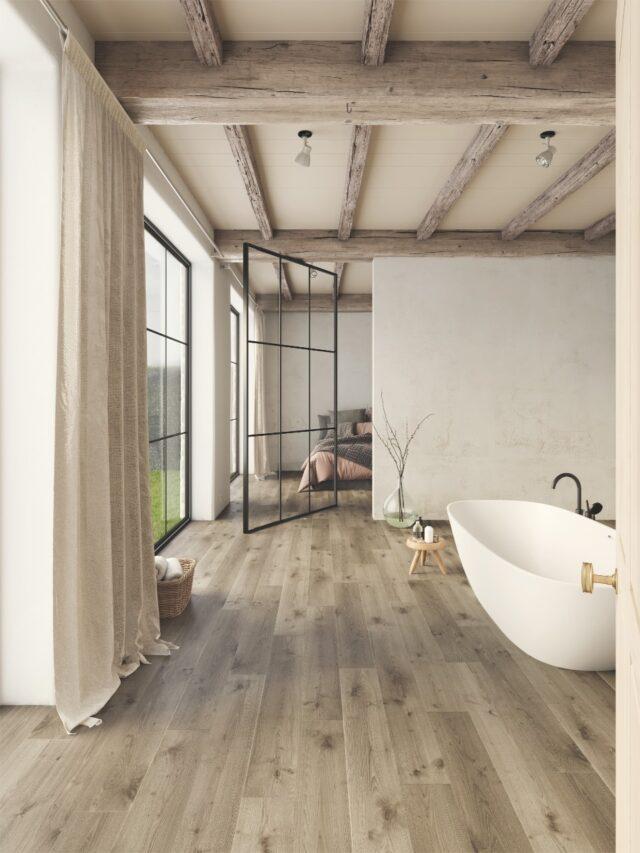 Victorian Oak TRD61010 | Balterio Traditions Laminate | Bathroom