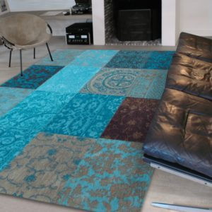 8105 Turquoise   Louis de Poortere Vintage Collection Rugs   Best at Flooring