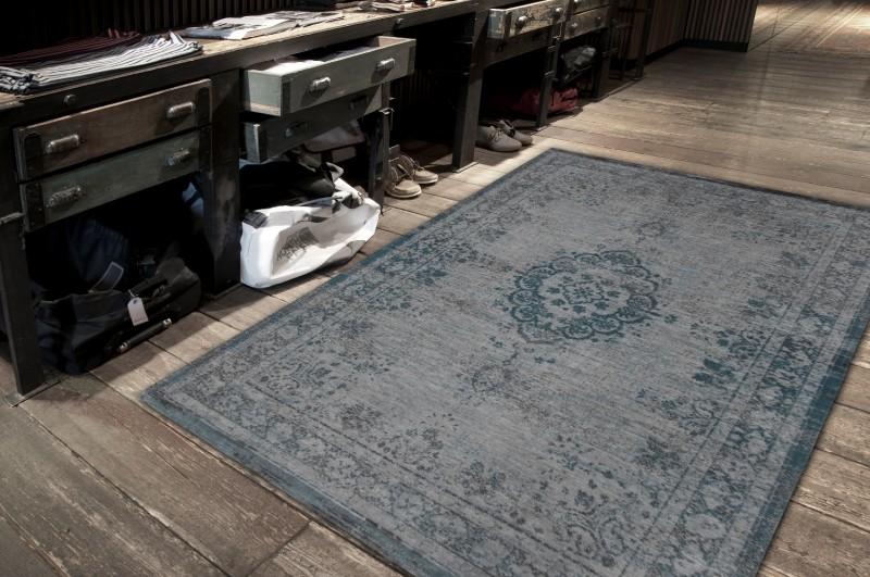 Grey Turquoise 8255 | Louis de Poortere Rugs