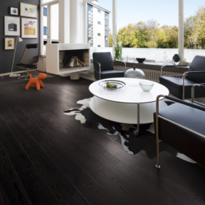 Oak Nouveau Charcoal | Kahrs Engineered Wood | Best at Flooring