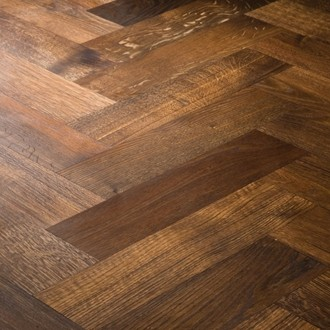 Fumed European Oak Herringbone
