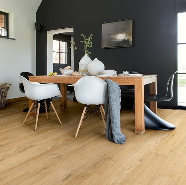 Quick Step Laminate   Impressive Ultra   Soft Oak Natural IMU1855