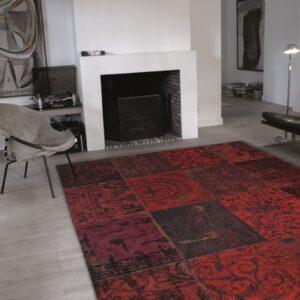 8014 Red   Louis de Poortere Rugs   Best at Flooring