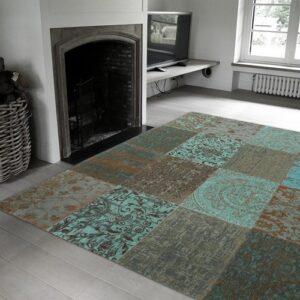8006 Sea Blue   Louis de Poortere Rugs   Best at Flooring