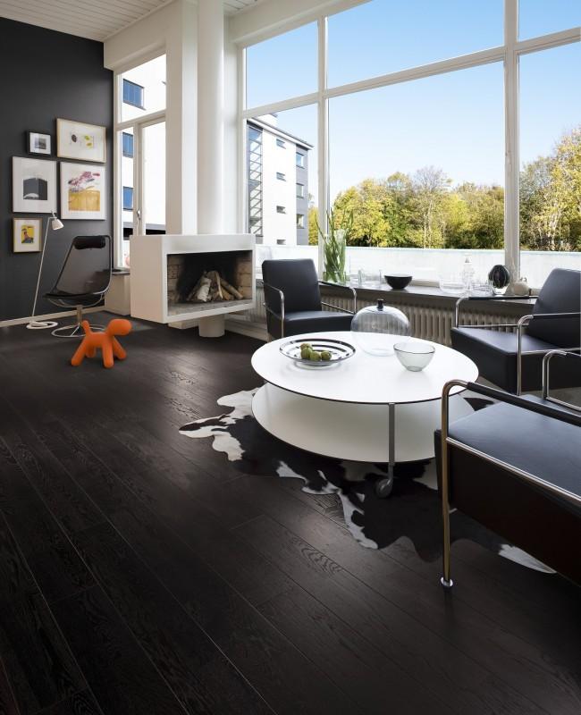 Oak Nouveau Charcoal | Kahrs Engineered Wood | Best at Flooring