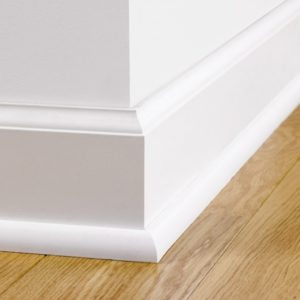 Paintable Skirting Ovolo QSISKRWHITEMD240 | Quick-Step Accessories