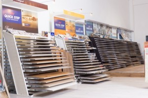 Quick Step Flooring Display | Best at Flooring