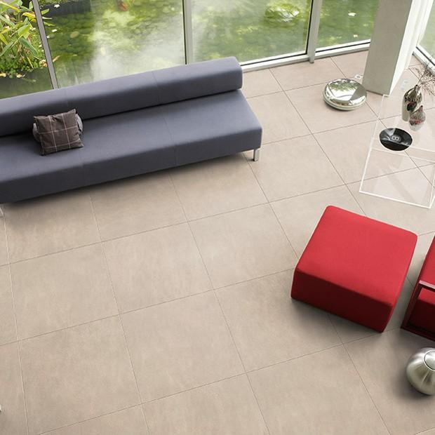 Quick Step Laminate | Arte | Leather Tile Light UF1401