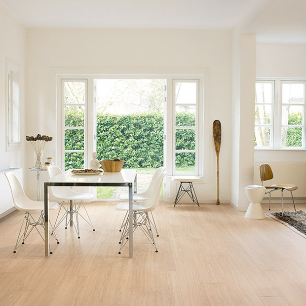 Quick Step Laminate | Perspective Wide | Oak White Oiled Planks UFW1538