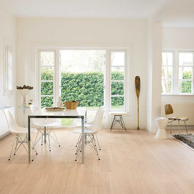 Quick Step Laminate | Perspective Wide | Oak White Oiled Planks ULW1538