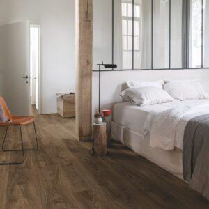 Quick Step Livyn | Balance Click | Cottage Oak Dark Brown BACP40027