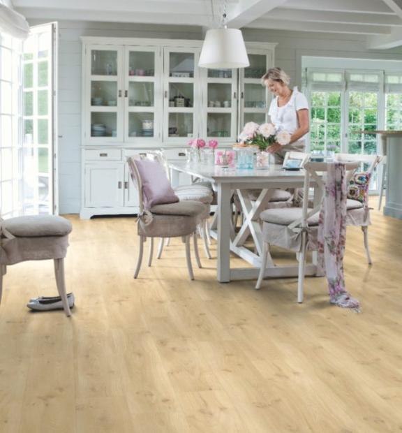 Drift Oak Beige BACP40018 | Quick-Step Livyn Luxury Vinyl Tiles