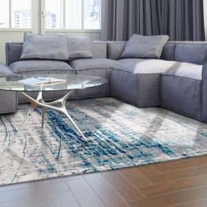 8421 Bronx Azurite | Louis de Poortere Mad Men Griff Rugs | Best at Flooring