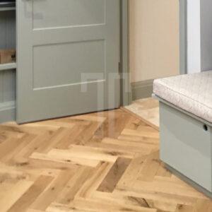 Sugar Cane Herringbone | Ted Todd Engineered Wood Flooring | Best at Flooring